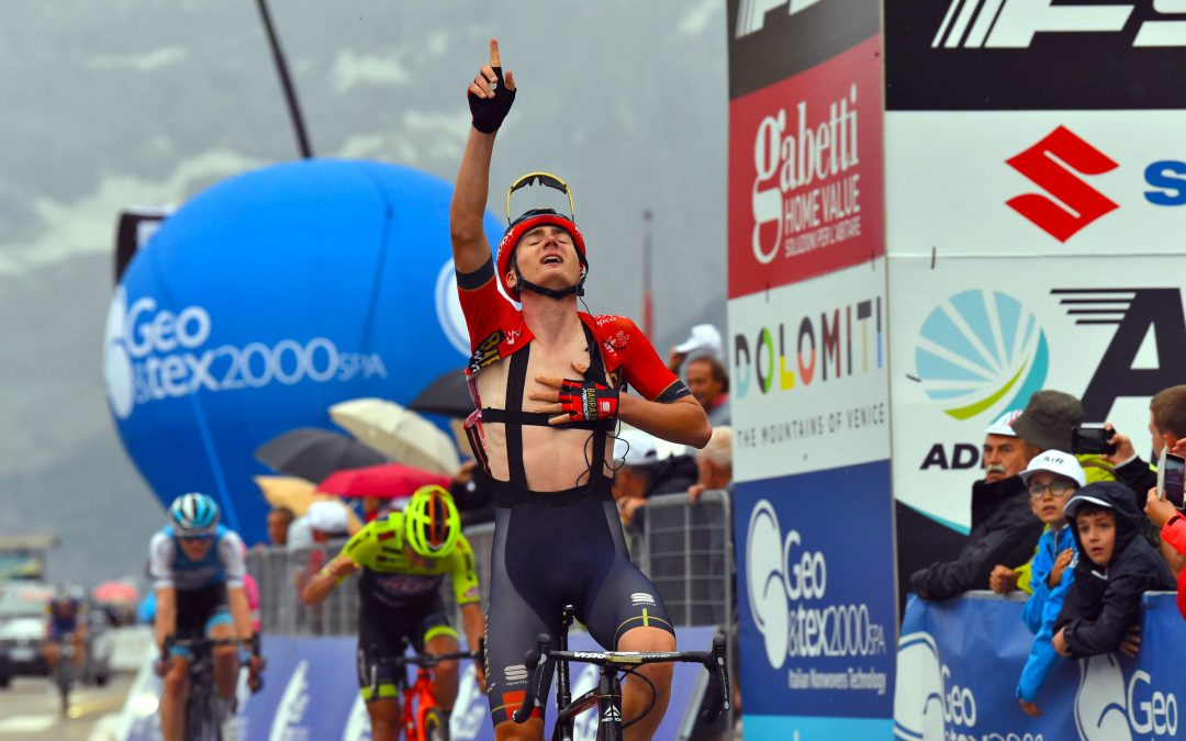 Mark Padun wins atop Misurina Lake taking AIRace lead