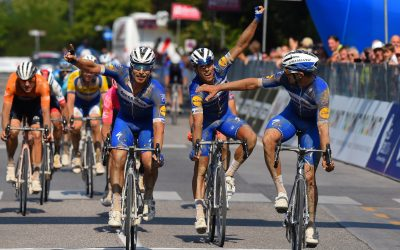 Deceuninck scores an impressive hat-trick in AIRace Flemish day
