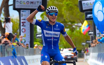 Superb Evenepoel's solo display ignites AIRace